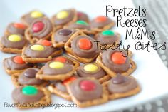 Favorites and Things: Pretzel, Reeses and M Bites
