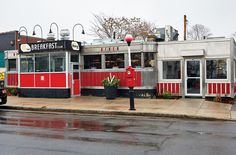 The Breakfast Club Allston | Built: 1952 | Worcester Lunch Car Co.