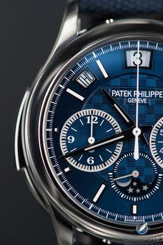 Patek Philippe Reference 5208T-010 unique piece in titanium for Only Watch 2017