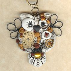 Steampunk Owl Necklace - Etsy freeheart1