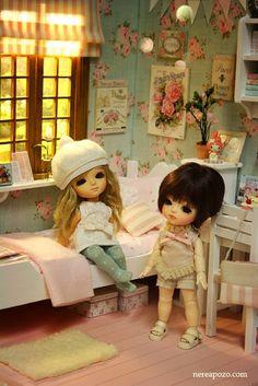Nerea Pozo Art: ♥ Custom Handmade Diorama Sweet Roses ♥