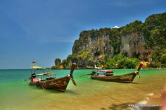 Nasze ostatnie znalezisko, plaża #RaileyBeach w Tajlandii. Warto było ;-)