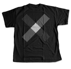 The Black X T-Shirt - DGTL Streetwear – Digital Threads