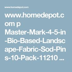 vigoro landscape fabric staples 25 pack landscape fabric