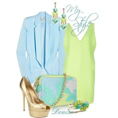 Spring, created by deniselanders on Polyvore