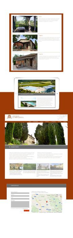 Sito web per agriturismo. #webdesign #website #webstrategy #webdevelopment #brandstrategy #GRAFFIOBrand