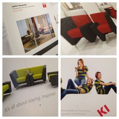 "@Kee Huff: Woot! Lots of KI in the pages of the @contractmag IDEABOOK for #NeoCon13 ow.ly/i/2fu2P #neoconography""  - From KI"