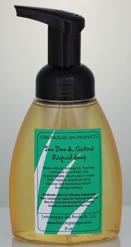 Tea Tree & Citrus Foaming Soap : an all-natural hand soap that's anti microbial, anti-viral, anti-bacterial, and doesn't contain the toxins that other soaps do. I use it to wash my hands, dishes, fruits & veggies, counter tops, & floors!!!