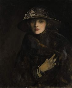 Sir John Lavery: Lady Gwendoline Spencer-Churchill the wife of Winston Churchills younger brother Jack.