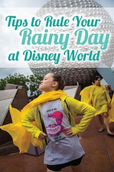 The rain may be pouring down, but don't let it dampen your spirits - use these Tips to Rule Your Rainy Day at Disney World!