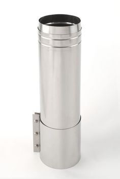 """Heat-Fab CCA32L36 32""""x36"""" Saf-T Vent CI+ Straight Length Stainless Steel Vent Pipe AL29-4C Pipe Length"""