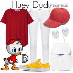Disney Bound - Huey Duck