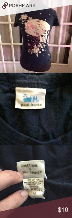Paul Frank graphic tee Great vintage Graphic tee. Fits small. Wear with white jeans rolled up and loafers. Super cute and edgy Paul Frank Tops Tees - Short Sleeve