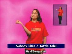 HeidiSongs: Music for Classroom Management - The Tattling Song