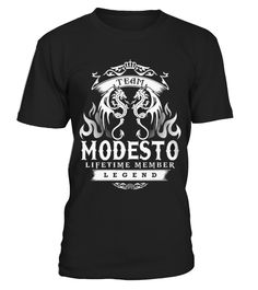 Best Its a MODESTO thing front T Shirt