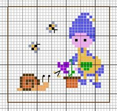 Elf with a snail
