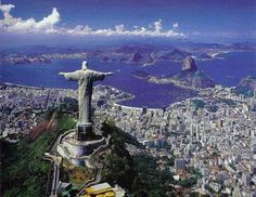 Rio de Janeiro – Located in Brazil. It is the capital city of the State of Rio de Janeiro, the largest city of Brazil. Rio de Janeiro is considered to be on Wonderful Places, Great Places, Places To See, Beautiful Places To Travel, Amazing Places, Places Around The World, Travel Around The World, Around The Worlds, Dream Vacations