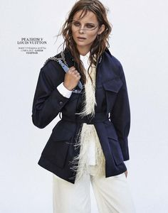 It's All About Spring: Anouk De Heer for Marie Claire Russia February 2015