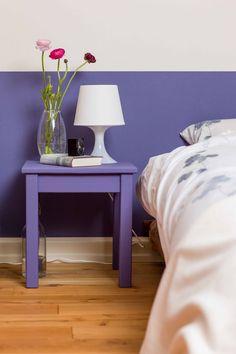 Passender Nachtisch: Wand- und Möbelfarbe 'Mystica'