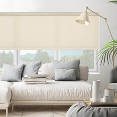 Select Fabric Light Filtering Roller Shades | SelectBlinds Room Darkening Shades, Types Of Blinds, Blackout Shades, Honeycomb Shades, Light Filter, Roller Shades, Blinds For Windows, Decorating Blogs, Window Treatments