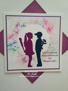 Boy with dog and Girl With Club Inspired by Banksy stamps from Bee Crafty  #beecraftystamps #dtsample #inspiredbybanksy #boywithdog #girlwithclub #pixiepowders #stamps #stamping #card #creative #ilovetocraft