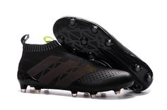 watch 6d324 c97ee adidas ACE 16+ PureControl FG-AG (Core Black Solar Yellow) Adidas