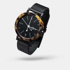 Shell brown watch - Aark Collective