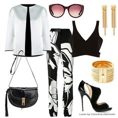 Preto & Branco _ sempre uma boa escolha! Veja post completo em www.carolinedemolin.com.br #moda #fashion #trend #tendencia #estilo #styles #looks #lookoftheday #lookdodia #personalstylist #consultoriadeimagem #consultoriademoda #imagem #identidade #shoes #bags #bolsas #reinaldolourenco #robertocavalli #johnjohn #jimmychoo #altazurra #chloe #lool #lanvin www.carolinedemolin.com.br