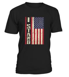 CHECK OUT OTHER AWESOME DESIGNS HERE!     I Dont Kneel I Stand For The National Anthem Tshirt. I stand for the American Flag T-Shirt.   We Stand for the Flag, We stand for America, We stand for Freedom. Whether you're a true patriot, a veteran, or was just raised right, take a stand and say WE STAND FOR THE USA and Wear this shirt with pride to football games and show your pride in our cou