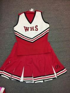 Authentic Cheerleading Uniform-Great for Halloween Costume Complete Uniform $25.00 Various Sizes Available Cheer Outfits, Sporty Outfits, Dance Outfits, Glee Fashion, Korean Fashion, Grease Costumes, Cheerleader Costume, Cheerleading Uniforms, Teenage Outfits