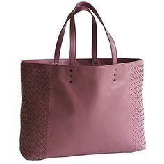 Auth BOTTEGA VENETA Tote bag Intrecciato Nappa leather Desert Rose 386812 214953 (eBay Link)