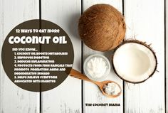 Coconut oil is a metabolism boosting fat that also increases your energy and improves your digestions. Here are 12 simple ways to eat more coconut oil daily!