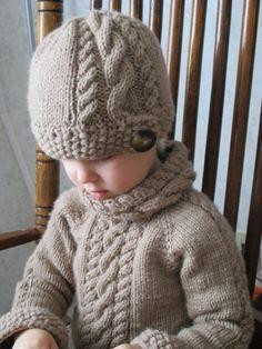 KNITTING PATTERN PDF Sweater Knit pattern by KnotEnufKnitting