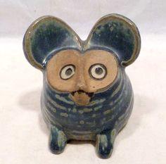 1960s Lisa Larson Mouse  Figure Gustavsberg Sweden