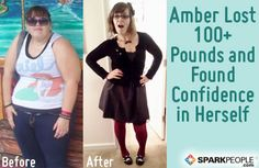 How Amber Lost 100+ Pounds and Found Confidence in Herself | via @SparkPeople #diet #fitness #motivation