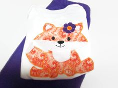 Baby Girl Clothes  Fox For Baby Girl    Fleece by PeaPodLilFrogs