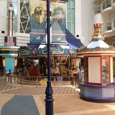 The Carousel Aboard Allure of the Seas