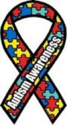 I challenge everyone to use an image similar to this for your twitter and Facebook profile pictures for a week to raise awareness about autism.