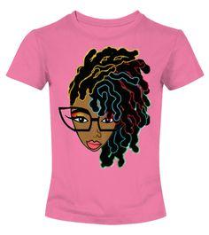 Afro hair T-shirt for Black women
