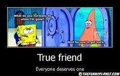Spongebob Patrick Star   True Friend