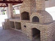 Outdoor Bbq Kitchen, Outdoor Kitchen Design, Outdoor Cooking, Diy Pizza Oven, Pizza Oven Outdoor, Backyard Patio, Backyard Landscaping, Parrilla Exterior, Barbecue Garden