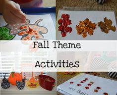 Fall Theme Fun and much more!