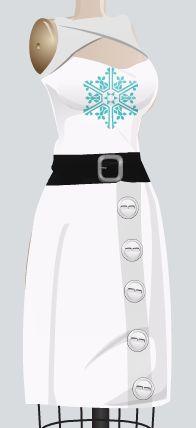 Homestuck Jade Harley(regular) themed dress