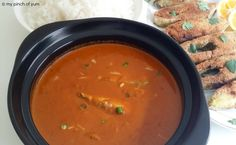Bangude Gassi  OR  Mackerel in Spicy Coconut Curry