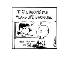 this isn't happiness™ - photo caption contains external link Sara Anderson, Pulp Fiction Comics, Snoopy Comics, Peanuts Comics, Snoopy Quotes, Charlie Brown And Snoopy, Photo Caption, Calvin And Hobbes, My Guy