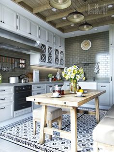 Вопрос 7. Кухня в доме мечты.