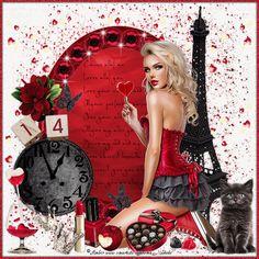 Happy V Day, Oasis, Cute Cats, Maya, Pin Up, Wonder Woman, Red, Gifts, Beautiful