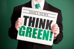 Think green || Image Source: http://www.startupguys.net/wp-content/uploads/2016/04/green-business-2.jpeg