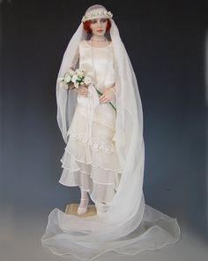 flapperbride doll — Diane Keeler