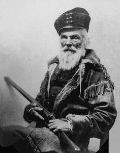 Joseph R Walker, Mountain man. Thought to be the first white man to look into Yosemite Valley, about 1835.